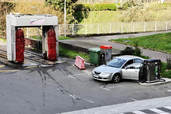 Aspiradoras lavado vehiculo surtidor Acitain Avia Eibar