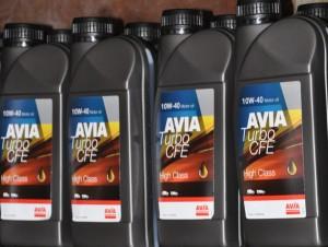 Aceite motor Avia gasolinera Azitain