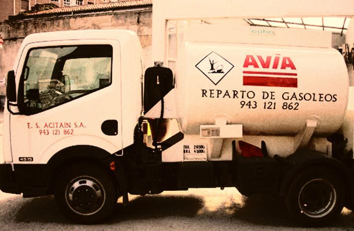 Distribución gasóleo a domicilio gasolinera ACITAIN Eibar