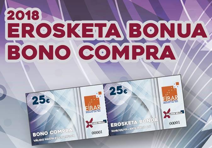 Campaña primavera 2018, Bonos-Compra canjeables, convierte 40 euros en 50.