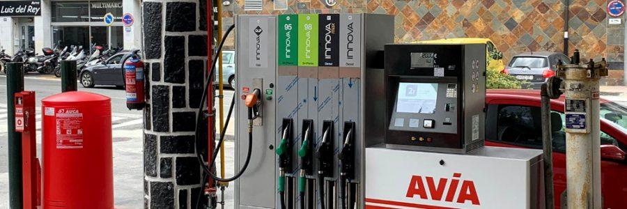 Nuevo surtidor lnnova GLP gas en E.S. Acitain