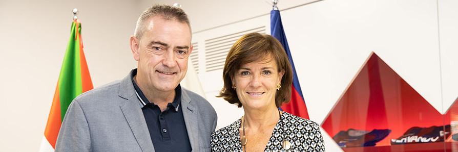El Eibar y AVIA seguirán juntos dos temporadas más, ES ACITAIN - AVIA