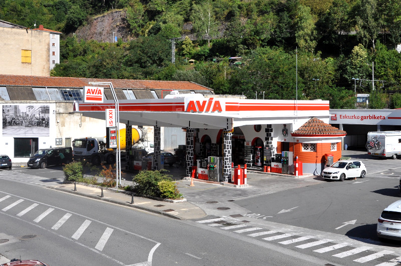 Gasolinera AZITAIN - Avia - en Eibar