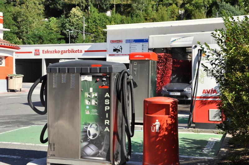 Aspiradoras lavado vehículo surtidor Acitain en Eibar - AVIA