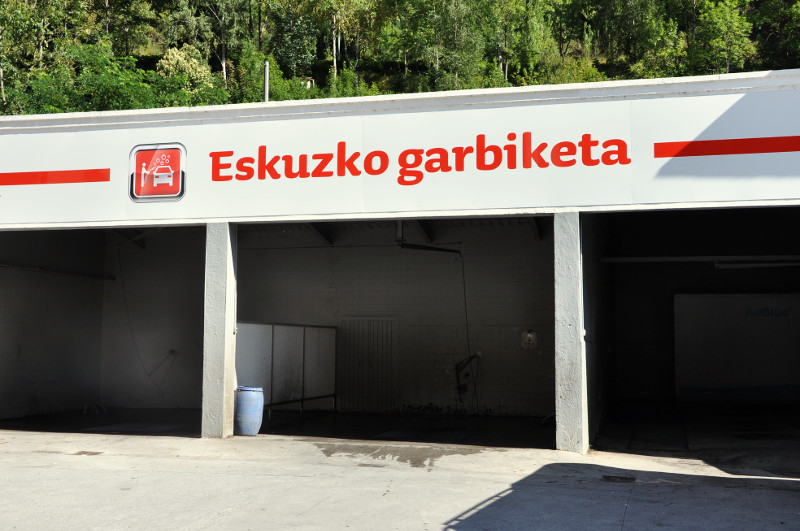 Box lavado Gasolinera Acitain Eibar Avia