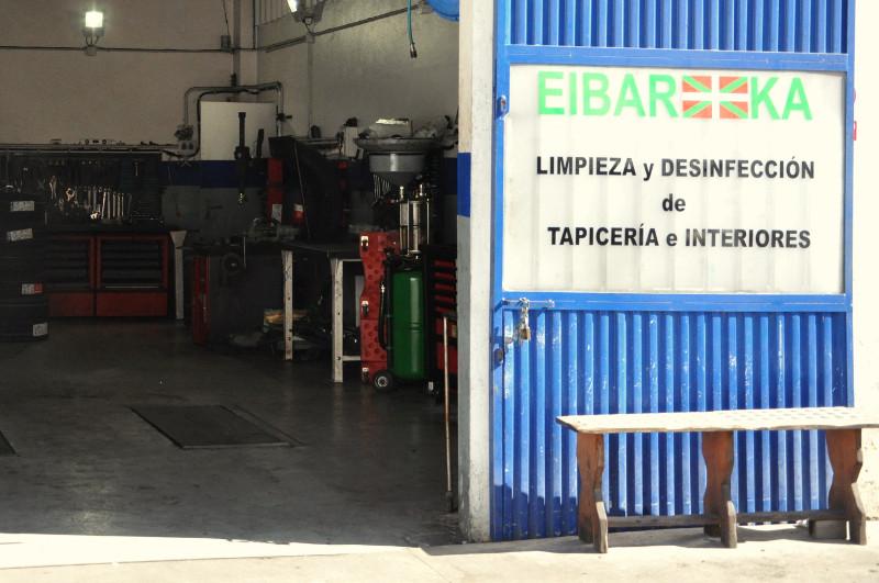 Limpieza y desinfección de tapiceria e interiores de vehículos, Acitain