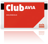 Tarjeta Club AVIA - Azitain gasolindegia Eibarren
