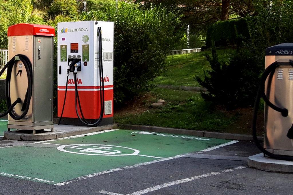 Smart Mobility punto recarga rápida en Eibar - E.S. ACITAIN
