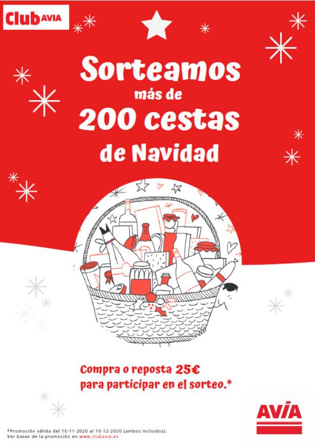cartel promoción club avia cestas navidades 2020-2021 - ES ACITAIN Eibar
