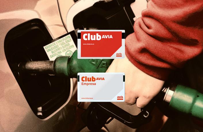 club avia en gasolinera Acitain
